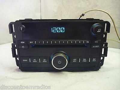 06 07 08 09 Chevrolet Malibu Radio Cd Player Aux Input for Ipod 15850677 B4024