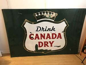Affiche Canada Dry