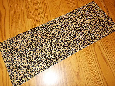 Cheetah Leopard decoration MINI table runner Toilet Tank Topper skin jungle  - Leopard Table