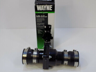 New Wayne Water Systems Sump Pump Check Valve Kit 1-14 - 1-12 57028-001