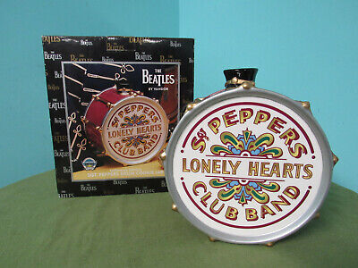 The Beatles Sgt. Peppers Drum Cookie Jar Collectors Edition - Preston Willingham