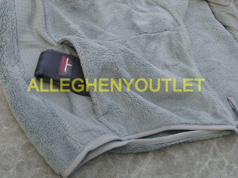 US Military Army Gen 3 ACU Foliage Green Polartec Fleece Jacket XS THRU 2XL NICE
