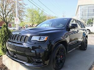 2017 Jeep GRAND CHEROKEE,  CUIR ROUGE, AUDIO SRT SRT, TOIT, GPS