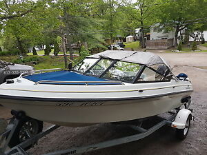 Bowrider Thundercraft with 2008 Merc 40hp Efi 4 stroke &new trl