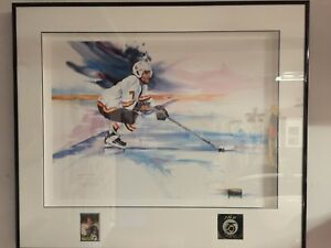 Cliff Ronning Collectible Painting
