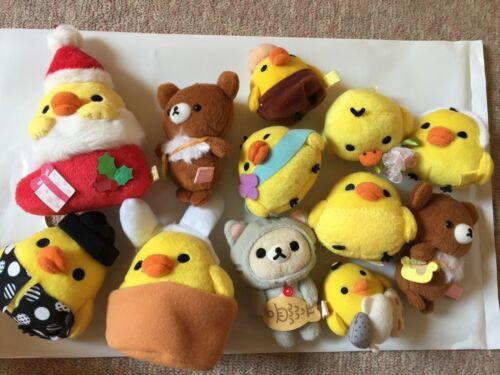 rilakkuma plush korilakkuma kiiroitori random 4 kinds set san-x bird mascot