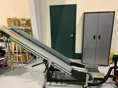 "EMI Plastics:  Conveyor.  14"" x 8 ft"
