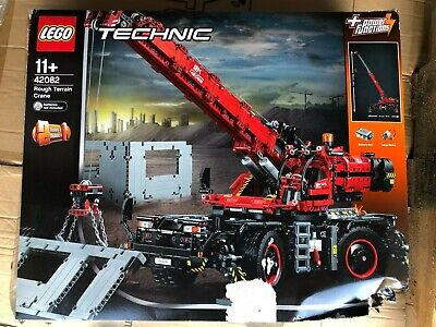 Lego Technic Rough Terrain Crane Building Kit (42082) OPEN BOX!
