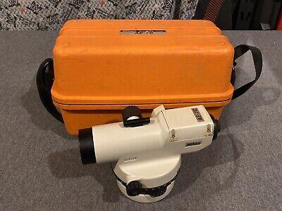 Nikon Auto Levels Ae-7c Engineers 30x Level W Case