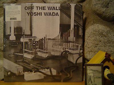 Yoshi Wada Off The Wall Lp 1985 Avant Garde Drone Steve Reich La Monte Young