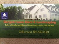 Bargain lawn care & Landscaping 10% off