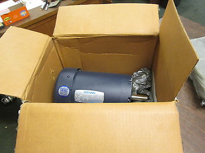 Leeson C145t28fb5a Ac Motor 121094.00 2hp 2850rpm Frf145t Encltefc New Surplus