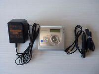 Sony Mz-nh700 Minidisc Player Recorder Hi-md Reproductor Grabador - sony - ebay.es