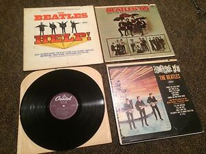 Beatles Records Albums
