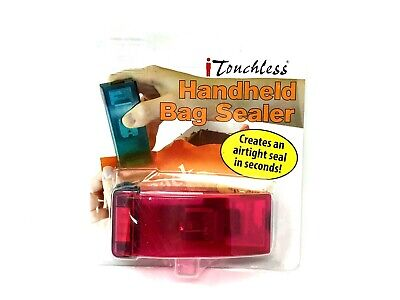 iTouchless Handheld Heat Bag Sealer for Airtight Food Storage Saver