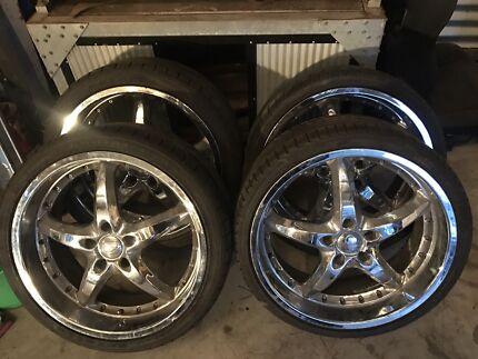 20 inch holden wheels