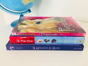 3 pony/unicorn books (2 are hardcover). All 3 for $12 FIRM