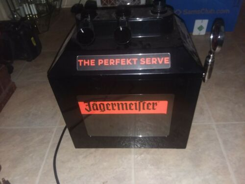 JAGERMEISTER 3 TAP MACHINE FOR PARTS OR REPAIR