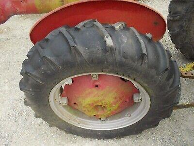 Farmall A B Bn Super A Sa Tractor Rims 11.2 X 24 Goodyear Sure Torque 98 Tires