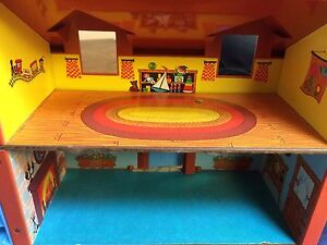 Vintage Fisher Price Little People House in Original Box Strathcona County Edmonton Area image 5