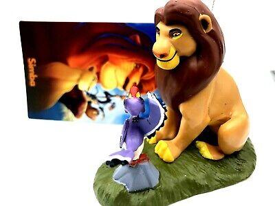 2019 New Disney Simba and Zazu Christmas Tree Ornament Lion King  Disneyland ()
