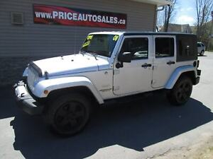 2008 Jeep WRANGLER UNLIMITED SAHARA - BOTH TOPS!!!