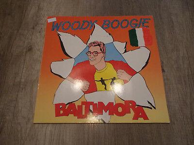 "Woody Boogie - Jumping / Instrumental Mix - Baltimora - LP / Vinyl - ""12"" ""45"""