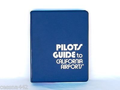 OPTIMA Pilot's Guide to California Airports 114298 Manual Guide Booklet Gift