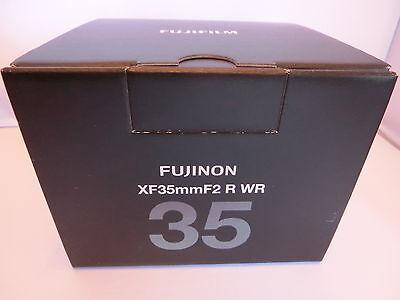 New  Fujifilm Fujinon XF35mmF2 R WR Black Lens for X mount c