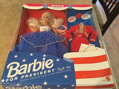 Barbie for President Gift Set 1991 NRFB Toys R Us Exclusive #3722