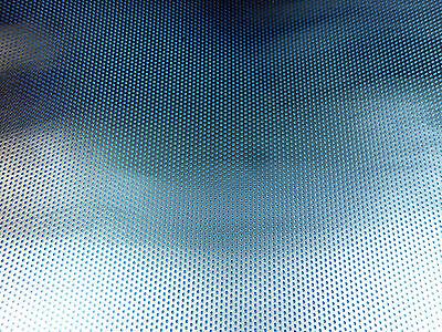 feines Alu- Lochgitter, Lochblech 100 x 125 x 0,5mm,  1,1/2,0mm Rundloch