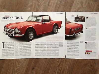 TRIUMPH TR4-6 - Classic Buying Guide Article