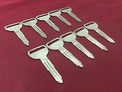 Toyota By Ilco Automotive Key Blanks Set Of 10 - Locksmith