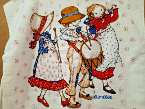 Vintage Holly Hobbie ~ 3 Pc. Set  BATH, Hand Towel, &  Washcloth Great Condition