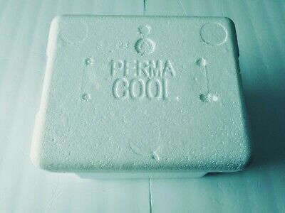 Perma Cool Styrofoam Shipping Container Outside Measurements 9 10 11