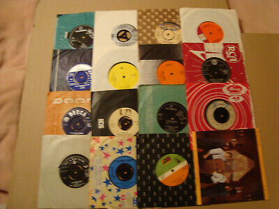 "pick 8 singles 7"" of Lot - Rock r&r Jazz Pop Country Easy '50s-90s {6}"