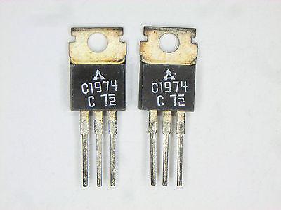 2sc1974 Original Panasonic Matsushita  Rf Transistor 2 Pcs