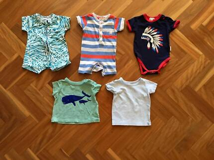 Baby clothes onesies, size 00, 0-3 mths, Pure Baby, Cotton On