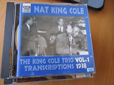 Naxos Jazz Legends -Nat King Cole's  Trio, Vol 1 1938 Recording. CD