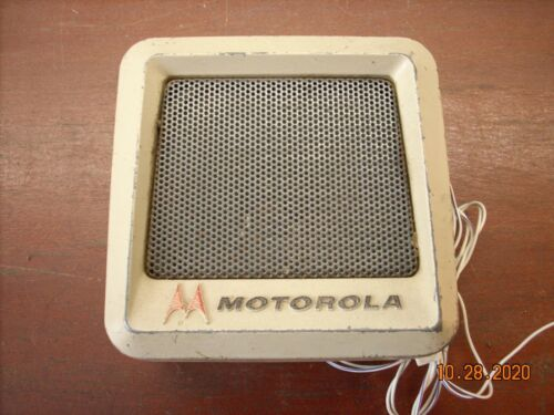 Motorola early Retro Radio Communication Speaker tsn 6000A-1 (#3)