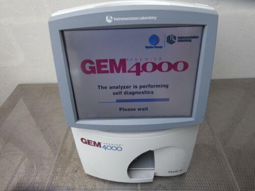 Instrumentation Laboratory GEM Premier 4000 Plus Blood and Gas Analyzer