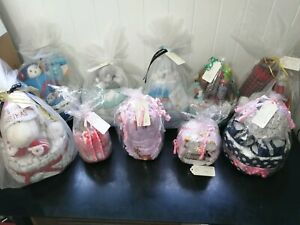 Bulk lot of Nappy Cakes all handmade selling as a whole!!
