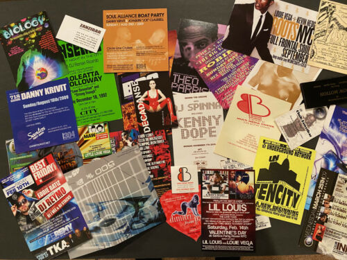 28 Classic1990s 2000s Deep/Soul House Party Flyers - NYC/ Miami