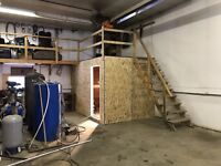 Sheds , shelters , mechanical rooms, and more