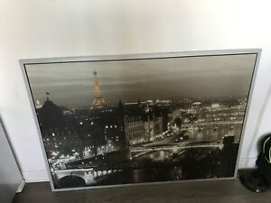 Big painting of Paris