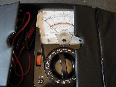 Vintage Analog Micronta Multimeter 22-022