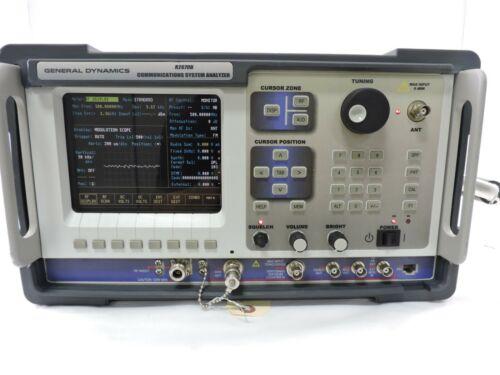 General Dynamics, Motorola R2670B RF Communications Analyzer, 90 Day Warranty