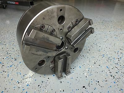 Kitagawa Pw-10 Power Wing Lathe Chuck Pull Back Action.