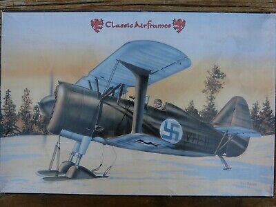 Maquette avion 1/48 Classics Airframes Polikarpov I-152 with Skis Ref 455