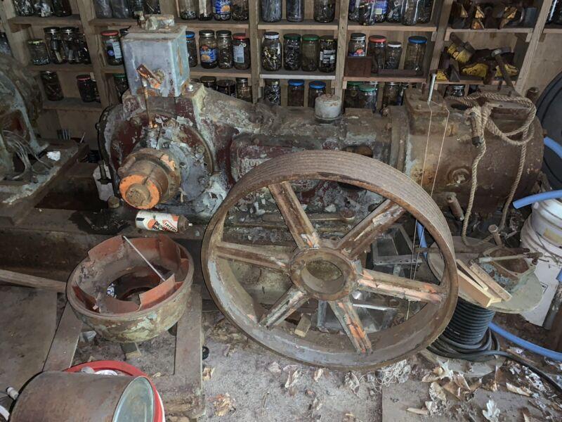 Vintage Antique Worthington Water Pump Hit Miss Steam Engine 6x7 L-51307
